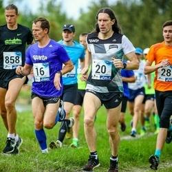 45. jooks ümber Ülemiste järve - Erkki Hummal (16), Priit Kajari (20)