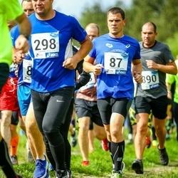45. jooks ümber Ülemiste järve - Kaitis Kõllamets (87), Raivo Loost (298)