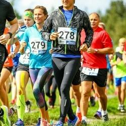 45. jooks ümber Ülemiste järve - Bruno Tammaru (278), Kristina Uibo (279)