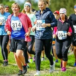 45. jooks ümber Ülemiste järve - Maret Ney (314), Merje Lesta (896)