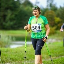 45. jooks ümber Ülemiste järve - Ilse Laur (504)