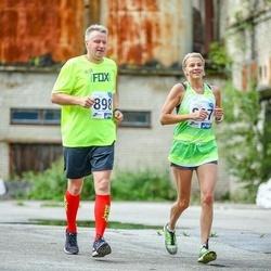 45. jooks ümber Ülemiste järve - Kätlin Nüünimäe (897), Mait Andreas (898)