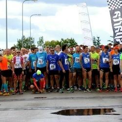 45. jooks ümber Ülemiste järve - Raivo Alla (1), Marek Enok (537)