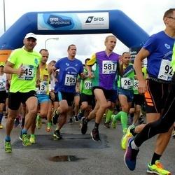 45. jooks ümber Ülemiste järve - Klen Krünberg (105), Kaur Kase (581)