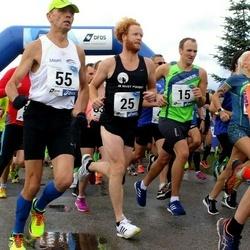 45. jooks ümber Ülemiste järve - Madis Mets (15), Siim Susi (25), Toomas Toom (55)