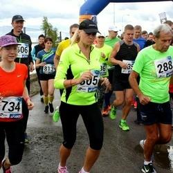 45. jooks ümber Ülemiste järve - Erik-Voldemar Üprus (288), Jelena Pjatkova (734)
