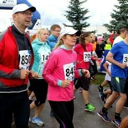 45. jooks ümber Ülemiste järve - Mari Uusküla (848), Lenno Uusküla (850)