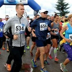 45. jooks ümber Ülemiste järve - Jaan Elken (534), Mattias Liivak (656)