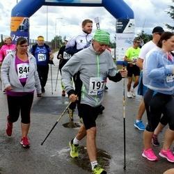 45. jooks ümber Ülemiste järve - Aivo Kruusimägi (197), Kati Lilienthal (657)