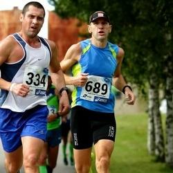 45. jooks ümber Ülemiste järve - Aare Kutsar (334), Mait Miller (689)