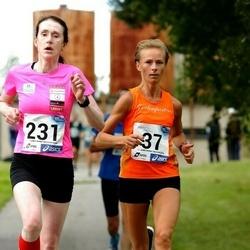 45. jooks ümber Ülemiste järve - Anne-Ly Palm (37), Klarika Kuusk (231)