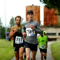 45. jooks ümber Ülemiste järve - Ailar Nirgi (711), Ainar Sepnik (789)