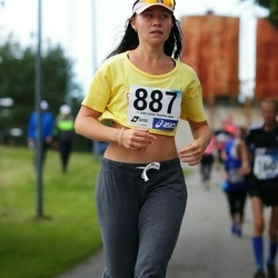 45. jooks ümber Ülemiste järve - Jana Štšefrotseva (887)