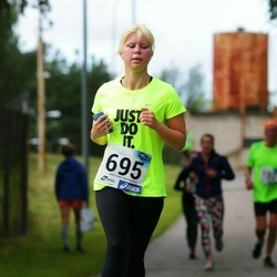 45. jooks ümber Ülemiste järve - Helina Mäll (695)