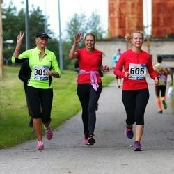 45. jooks ümber Ülemiste järve - Aali Lilleorg (305), Kristel Kroon (605)