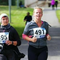 45. jooks ümber Ülemiste järve - Kadri Karner (491), Anzela Nõmmsalu (495)