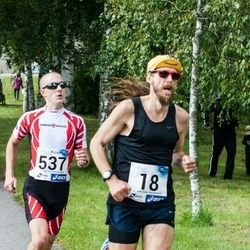 45. jooks ümber Ülemiste järve - Kain Väljaots (18), Marek Enok (537)