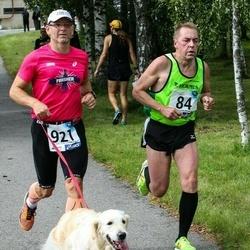45. jooks ümber Ülemiste järve - Juhan Telling (84), Priit Kotli (921)