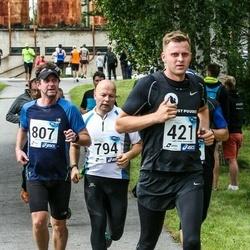 45. jooks ümber Ülemiste järve - Tauri Raja (421), Tarmo Sild (794), Herkki Suurman (807)