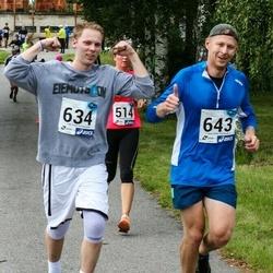45. jooks ümber Ülemiste järve - Alo Landberg (634), Erki Lember (643)