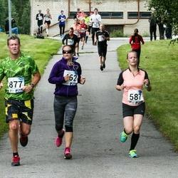 45. jooks ümber Ülemiste järve - Riin Kiik (587), Aivar Köök (877)