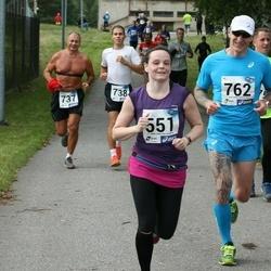 45. jooks ümber Ülemiste järve - Kersti Hiiemaa (551), Leho Rennit (762)