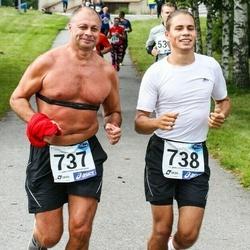 45. jooks ümber Ülemiste järve - Yuri Ponomarenko (737), Juri Ponomarenko (738)