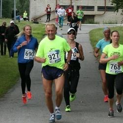 45. jooks ümber Ülemiste järve - Aire Rosik (768), Aleksander' Jaanson (927)