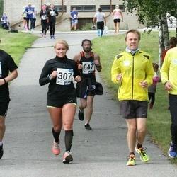 45. jooks ümber Ülemiste järve - Anneli Aidla (307), Janno Rebane (464)