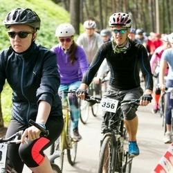 Jüri Ratase XIII jalgrattavõistlus - Anneliis Annus (253), Lauri Kaldmets (356)