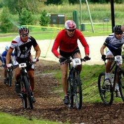 Jüri Ratase XIII jalgrattavõistlus - Priit Soom (42), Ando Kuusik (52), Daniel Kozelski (121)