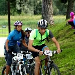 Jüri Ratase XIII jalgrattavõistlus - Beatrice Marlene Metsaorg (373), Artsem Shyshko (381)