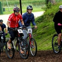 Jüri Ratase XIII jalgrattavõistlus - Ruth Trääder (32), Arkadi Statsenko (211), Mario Sults (215)