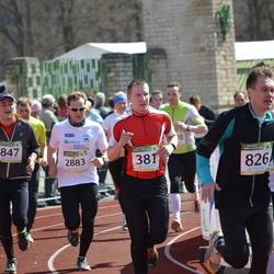 84. Suurjooks ümber Viljandi järve - Andrus Treiberg (381), Joel Jaago (826), Arnold Kannike (847), Mart Kaseväli (2883)