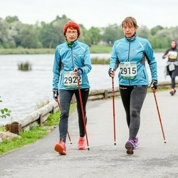 Jüri Jaansoni Kahe Silla jooks - Ester Tints (2915), Ene Tõnisoja (2922)