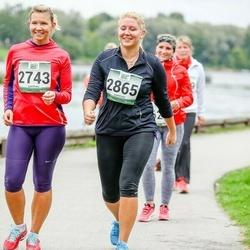 Jüri Jaansoni Kahe Silla jooks - Erika Lelumees (2743), Triin Salujärv (2865)