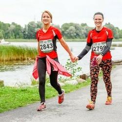 Jüri Jaansoni Kahe Silla jooks - Anne Oad (2798), Natalja Reek (2843)