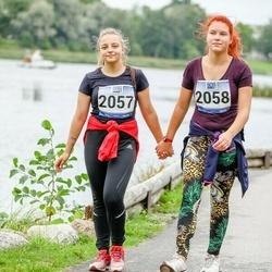 Jüri Jaansoni Kahe Silla jooks - Viktoria Kraft (2057), Cäroly Paatsi (2058)
