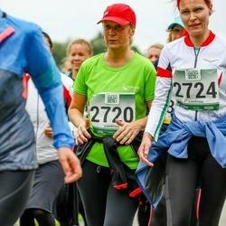 Jüri Jaansoni Kahe Silla jooks - Inga Kuusemäe (2720), Canet Kängseoo (2724)