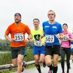 Jüri Jaansoni Kahe Silla jooks - Pirko Palu (253), Silver Soosaar (265)