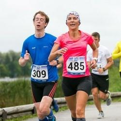 Jüri Jaansoni Kahe Silla jooks - Jaan Lehismets (309), Riina Rahuoja (485)