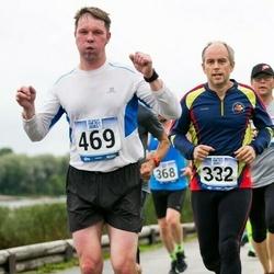 Jüri Jaansoni Kahe Silla jooks - Sander Blehner (332), Marek Jääger (469)