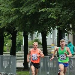 Jüri Jaansoni Kahe Silla jooks - Franko Reinhold (22), Andrus Lein (376)