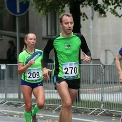 Jüri Jaansoni Kahe Silla jooks - Maigi Vaikla (209), Raido Puust (270)