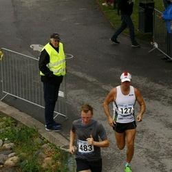 Jüri Jaansoni Kahe Silla jooks - Margus Tõkke (127), Handreas Karl Kivistik (483)