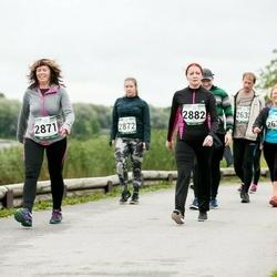 Jüri Jaansoni Kahe Silla jooks - Katrin Sihver (2871), Monika Stimmer (2882)