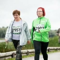 Jüri Jaansoni Kahe Silla jooks - Eveli Tamm (2903), Lidia Õilsalu (2957)