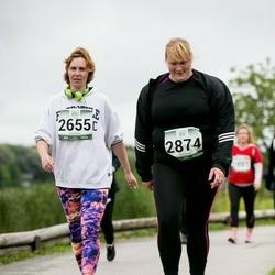 Jüri Jaansoni Kahe Silla jooks - Sigrid Hussar (2655), Ly Siitan (2874)