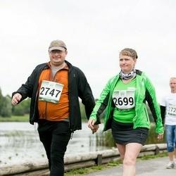 Jüri Jaansoni Kahe Silla jooks - Külli Kidra (2699), Tarmo Lensment (2747)
