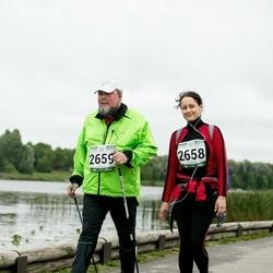 Jüri Jaansoni Kahe Silla jooks - Signe Ilus (2658), Tiit Ilus (2659)